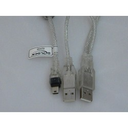 KABEL USB 2.0 2 X AM To...
