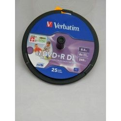 DVD +R DL 8,5 GB 8 X 240...