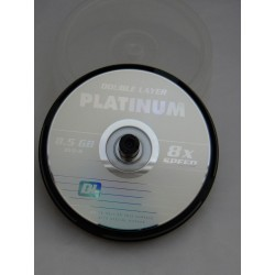 DVD+R 8,5GB 8x DL PLATINUM...